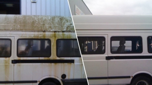 Van Before and After