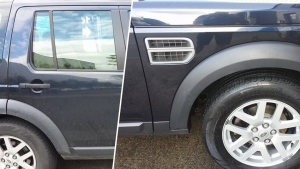 Landrover Before and After