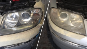 Lights Before & After